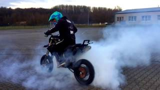 Supermoto Stuntriding by Pytch_fpg  | Wheelies, Burnouts, City rides and more