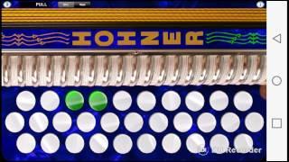Mariposa traicionera en acordeon
