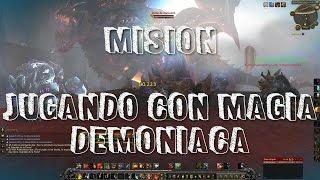 Misión: Jugando con magia demoníaca
