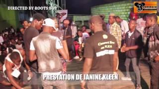 PRESTATION DE JANINE KLEEN  AU CONCERT LIVE DE DJ LEO AU NPA