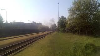 1.majová jízda parní lokomotivy řady 464 Rosnička