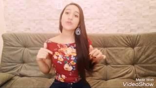 "Cover ""Aquieta Minh'alma"" Isabelly Santos"