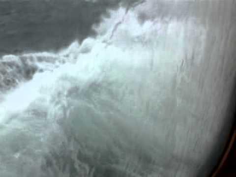 """Storm on the Black Sea –  Ferrry """"MV Yuzhnaya Palmyra"""" Istanbul to Odessa"""