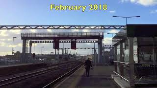 Swindon Station Electrification width=