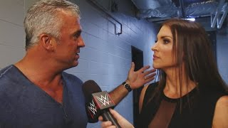 Shane McMahon announces a WWE Title rematch for SmackDown Live tonight
