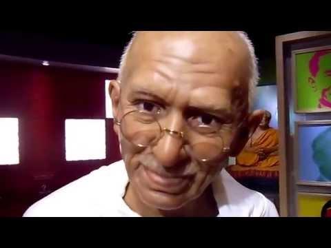 Mahatma Gandhi (Gandhiji) at Madame Tussauds Bangkok