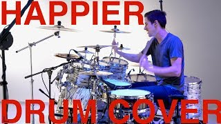 Happier - Drum Cover - Marshmello & Bastille - Pearl Music City Custom!