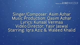 Asim Azhar-Jo Tu Na Mila||(OFFICIAL LYRICS VIDEO)||Lyrics Video