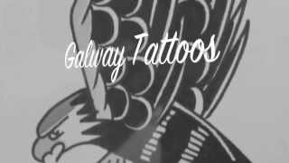 Galway Tattoos Flash Video Black and White Verion