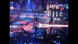 Eurovision Song Contest 2016 Grand Final Australia - Dami Im live with ecstatic audience