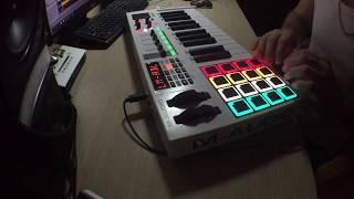 Classic beatmaking | M-audio Code 25