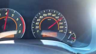 Jetta vs Corolla vs Frontier a 200km/h [2ª Parte] フォルクスワーゲンジェッタは、 220キロ以上/ hに日産フロンティア、トヨタカローラに対する高速化