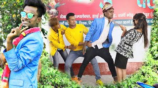 दिल्ली वाली डारलिंग  देतिया  वारनिंग Krishna zaik new funny fully comedy video कमेडी का पिटारा
