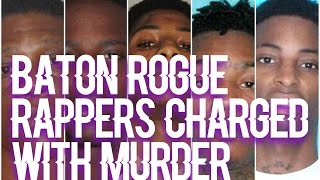 Top 5 Baton Rouge Rappers Charged With Murder