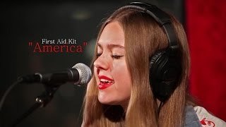 """America"", First Aid Kit (live) (Paul Simon Cover)"