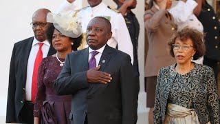 South Africa's new president invokes Mandela in first major speech