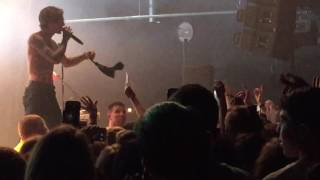 "The Neighbourhood /The NBHD - ""RIP 2 my Youth"" - Jesse got a bra to the face! Fillmore NC 5/23/16"
