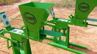 Máquina de Tijolo Ecológico - (Verde Equipamentos)