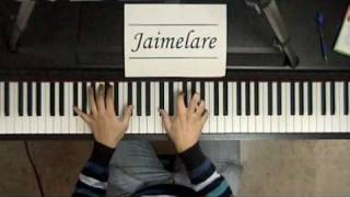 Vivo por ella (piano) by Jaimelare + Lyrics