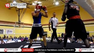 Rolando Cano vs. Tony Robinson Joliet Luna Boxing 2015