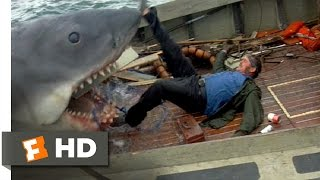 Quint Is Devoured - Jaws (9/10) Movie CLIP (1975) HD