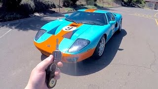 What It's Like To Drive A Ford GT (POV Insane Exhaust!)