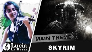 Skyrim - Main Theme (Violin solo cover + Sheet Music)