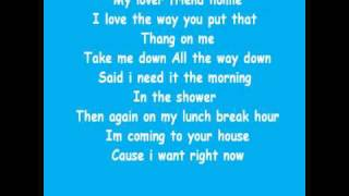 Brutha - Can't Get Enough (Sexaholic) (With lyrics)
