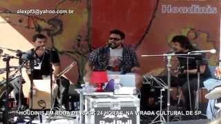 Houdinis na Roda de Rock 24 Horas (Live Music Rock) [HD]