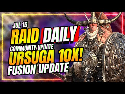 URSUGA 10x! Should you pull? | RAID Shadow Legends