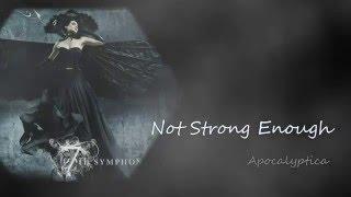 Not Strong Enough - Apocalyptica 中英文歌詞lyrics