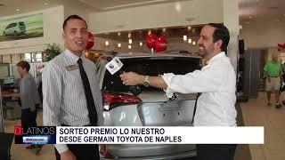 Realizamos el sorteo de pases a Premio Lo Nuestro desde Germain Toyota de Naples