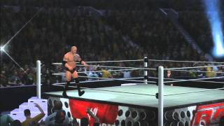 WWE 12 | The Rock Entrance