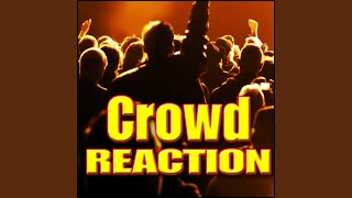 Crowd, Reaction - Small Studio Audience: Gasp Frightened, Screaming & Gasping Crowds, Cheering...