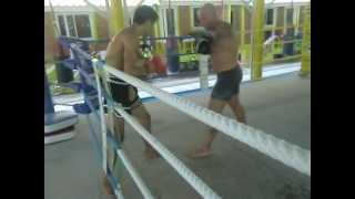 Sparring. Lion Gym. Rawai. Phuket. Thailand. Carbognani Cristian.