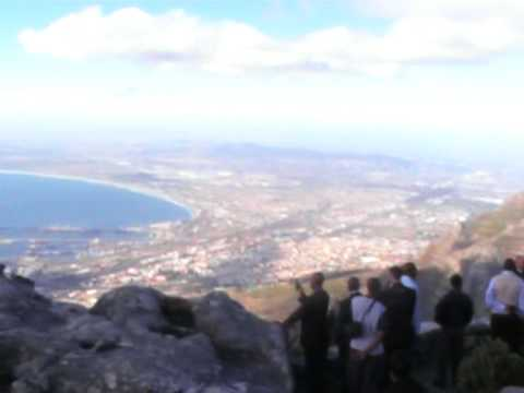 view from table mountain, capetown SOUTH AFRICA