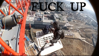 WE SAY `FUCK UP`