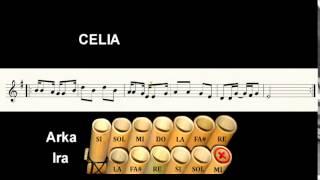 Celia (Tinku) Partitura interactiva para zampoña