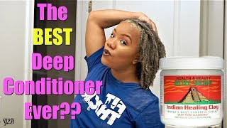 MY DEEP CONDITIONING ROUTINE | TRYING OUT A NEW PRODUCT | 4C NATURAL HAIR WASH DAY