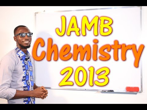 JAMB CBT Chemistry 2013 Past Questions 1 - 23