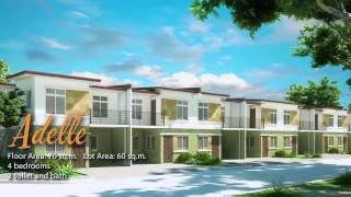 ADELLE - Town house for Sale in Lancaster New City Cavite Philippines | Zone 2 Brighton