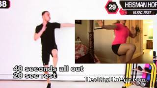 40 Minute Fat Burning Tabata Workout - Review of Millionaire Hoy's Tabata Initiation