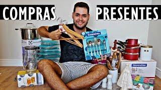 PRIMEIRAS COMPRAS E PRESENTES PRO APÊ NOVO!