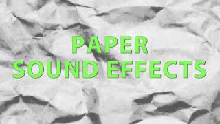 Paper Sound Effects
