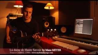 Manu Meyer - La Dame de Haute-Savoie (Cover).