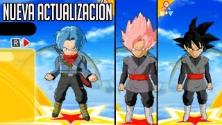 Dragon Ball Fusions Actualización (Trunks del Futuro, Black Base & Black SSJ Rose)