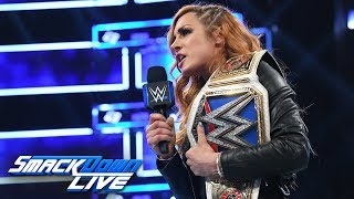 Becky Lynch has a warning for Ronda Rousey: SmackDown LIVE, Oct. 30, 2018