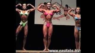 Powerful bodybuilding girl