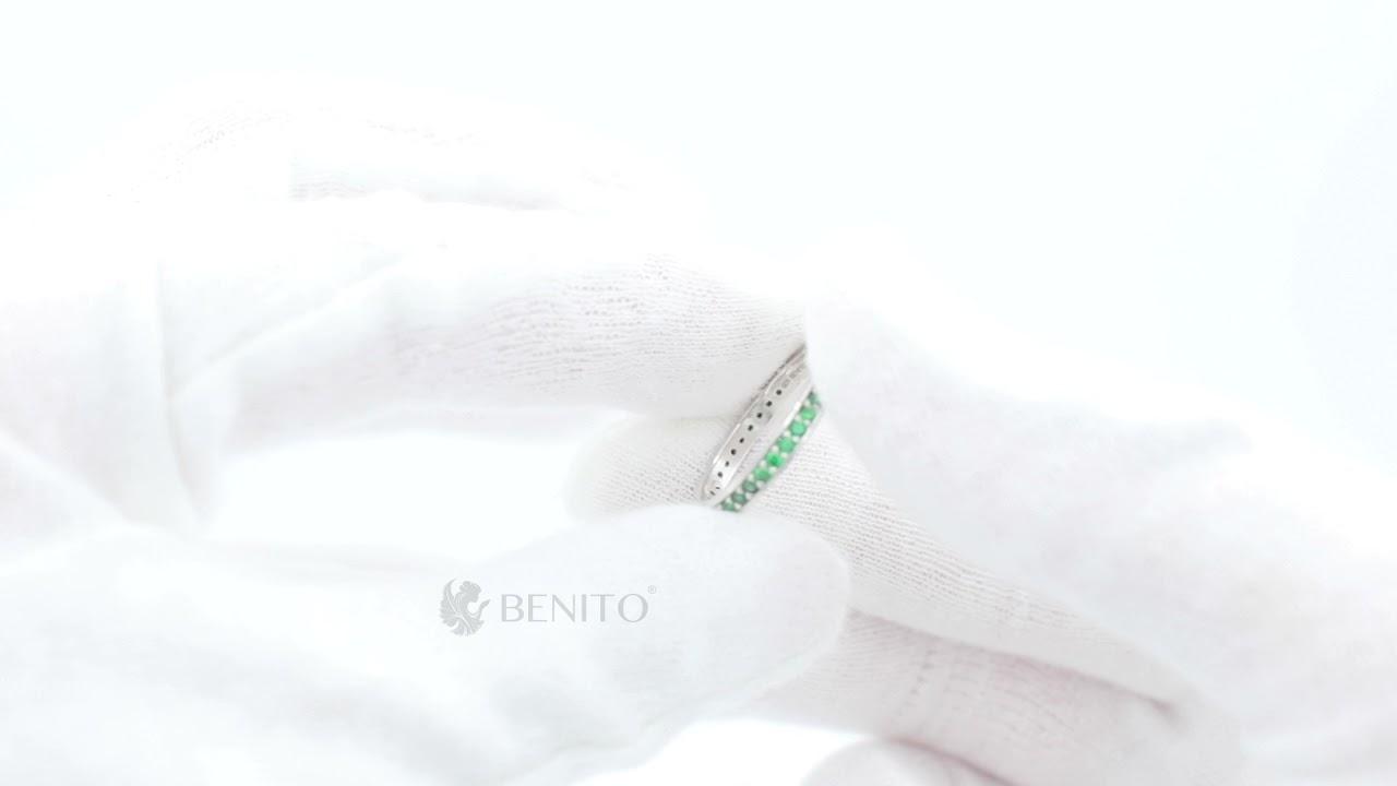 Lina Ring Green Zircon Stones