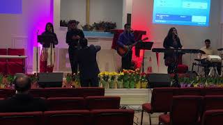 """WWC Worship Practice 3/25/18 - """"Without Your Love"""" Travis Greene"""
